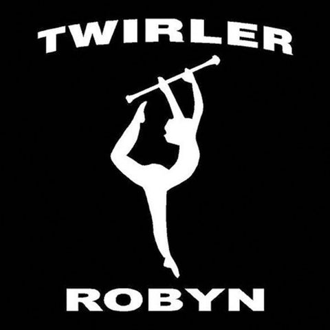 Twirler  Car Window Decals