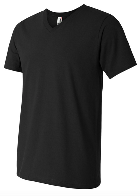Unisex, Triblend V-Neck T-Shirt