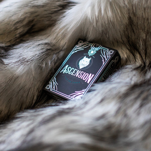 Ascension Playing Cards: Silver Wolves