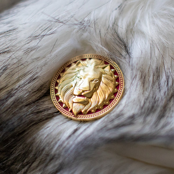Ascension: Golden Lions Engraved Coin