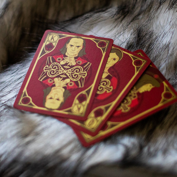 Ascension Playing Cards: Golden Lions