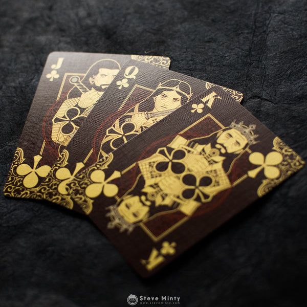 Thorns and Roses Playing Cards: Roses