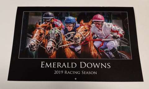 2019 Emerald Downs Racing Season Calendar