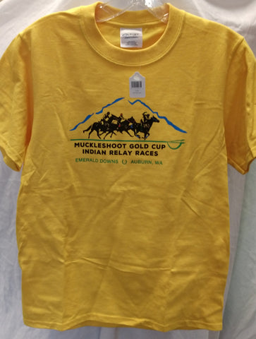 Muckleshoot Gold Cup Youth T-Shirt
