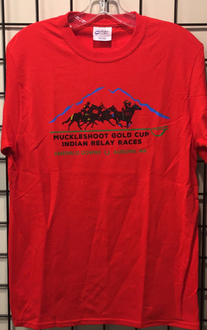 Muckleshoot Gold Cup Adult T-Shirt