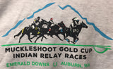 Muckleshoot Gold Cup Hooded Sweatshirt