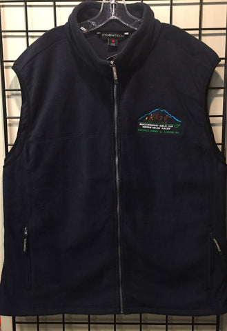 Muckleshoot Gold Cup Fleece Vest