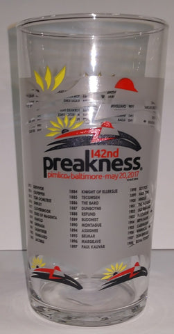 Preakness 2017 Glass