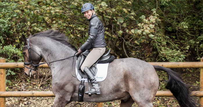 Louise Bell : from the show ring to the dressage arena