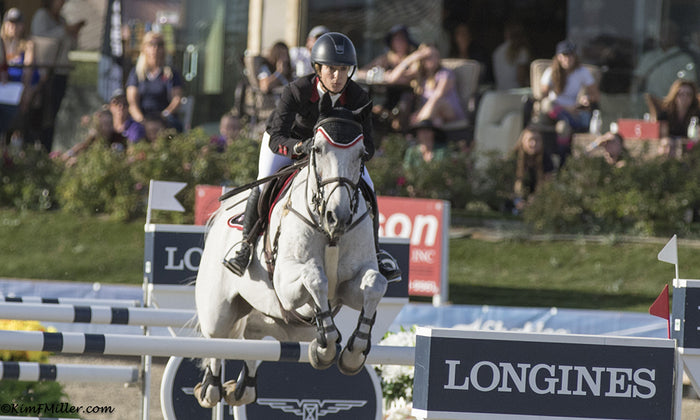 Jamie Barge and her successes with top horse Luebbo
