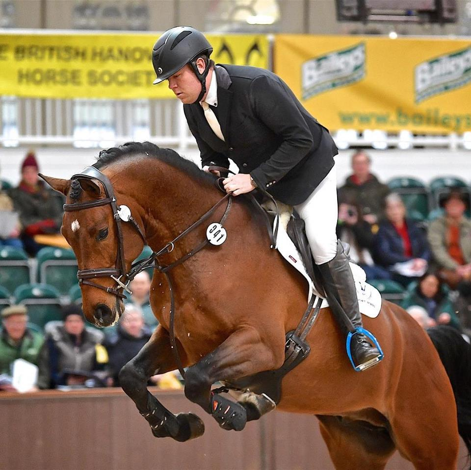 Showjumper Paul Gaff talks tactics for healthy horses