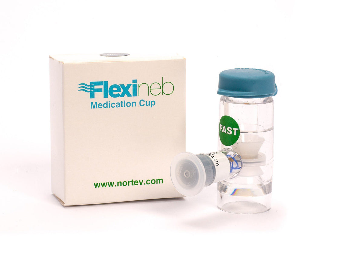 Hay Accessories - Flexineb Nebuliser Medication Cup / Drug Chamber Unit Fast Flow - Green