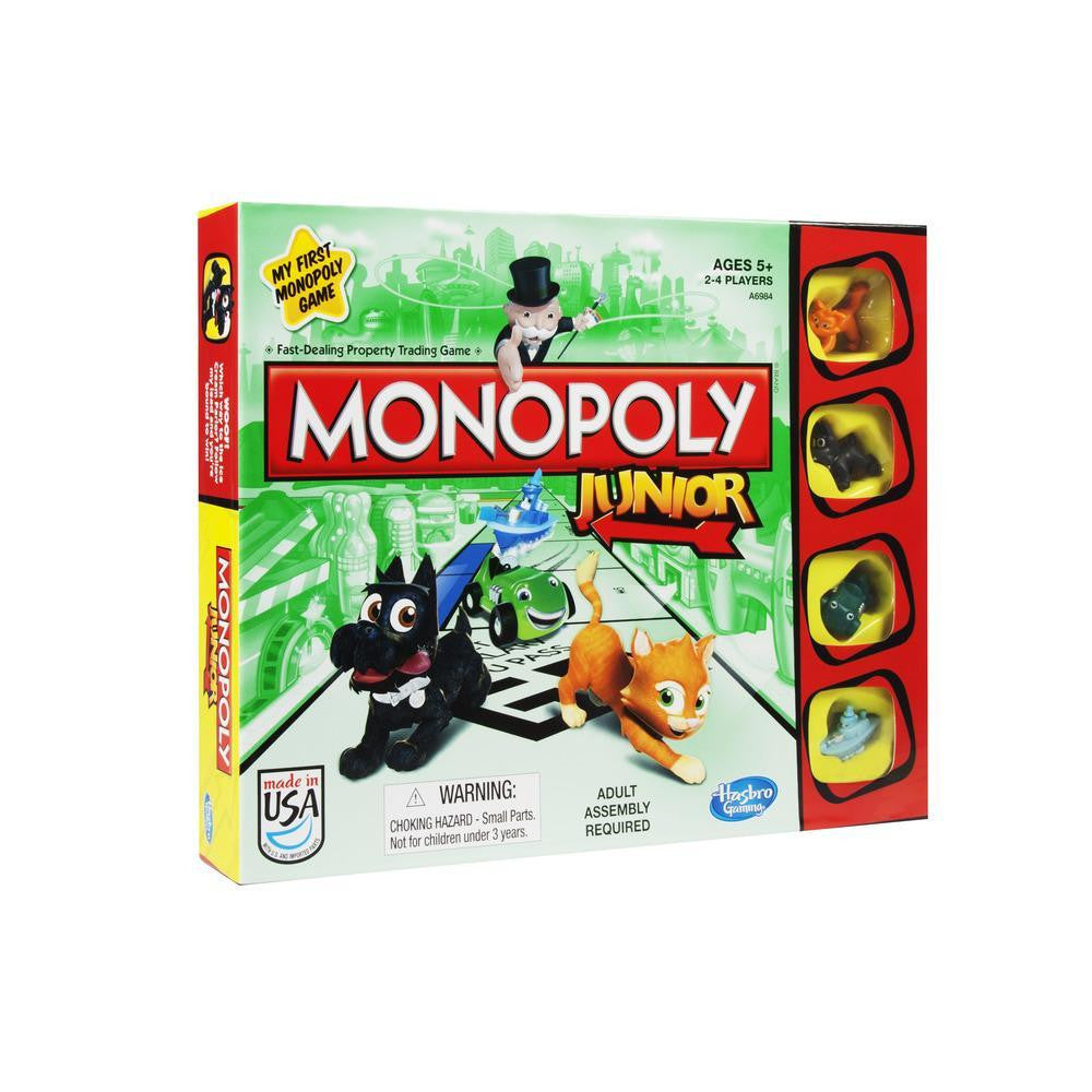 Monopoly Junior #216 Board Game - Davis Distributors Inc