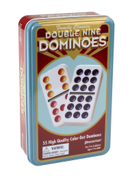 Deluxe Double 9 Dominoes #110 Dominoes - Davis Distributors Inc
