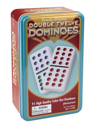 Deluxe Double 12 Dominoes #130 Dominoes - Davis Distributors Inc