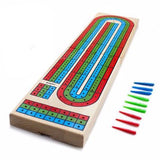 Deluxe Cribbage #115 Board Game - Davis Distributors Inc