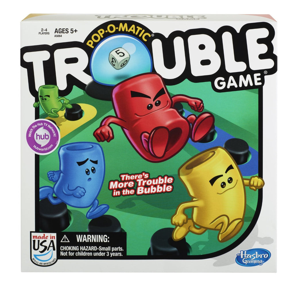Trouble #237 Board Game - Davis Distributors Inc