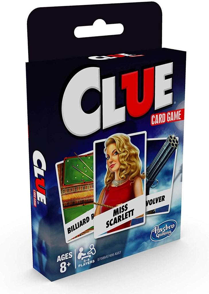 Clue Card Game #233C