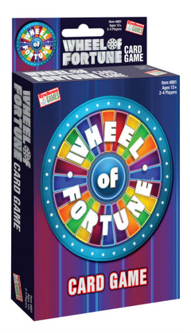 Wheel of Fortune Card Game #243C