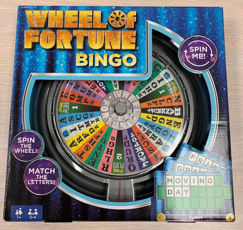 Wheel of Fortune Bingo #243B