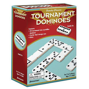 Deluxe Double 6 Dominoes #107 Dominoes - Davis Distributors Inc