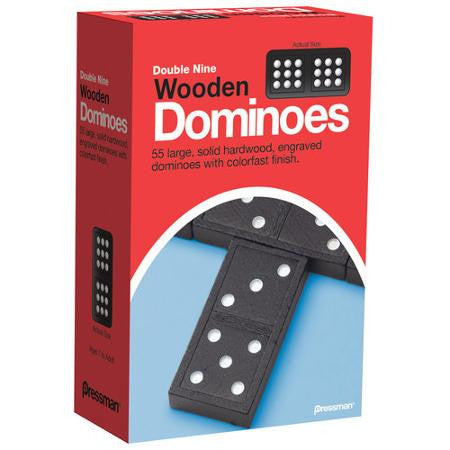 Double 9 Wooden Dominoes #131 Dominoes - Davis Distributors Inc