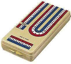 Cribbage Board- Folding Plastic #127 Board Game - Davis Distributors Inc