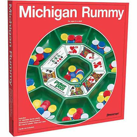 Michigan Rummy #214A Board Game - Davis Distributors Inc