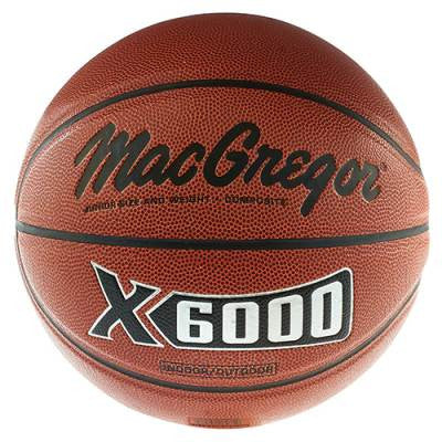 Basketball- MacGregor Leather X6000 Athletic Equipment - Davis Distributors Inc
