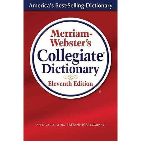 Merriam Webster's Collegiate Dictionary #DIC1 Reference - Davis Distributors Inc