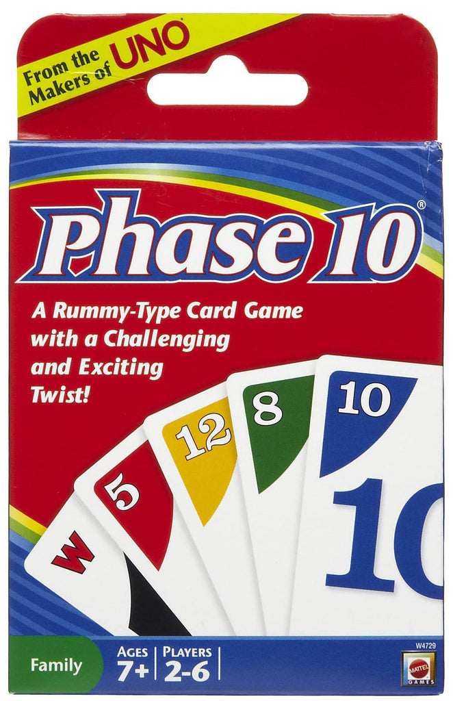 Phase 10 #221A Card Game - Davis Distributors Inc