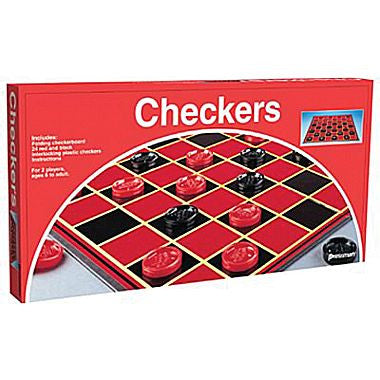 Checker Set #102 Board Game - Davis Distributors Inc