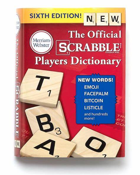Scrabble Dictionary 6th Edition #2256