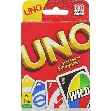 Uno Classic #111 Card Game - Davis Distributors Inc
