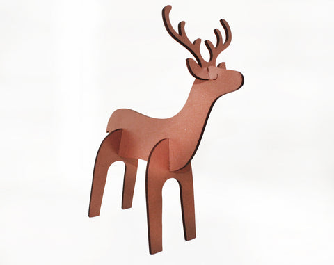 christmas deer decor 2pk