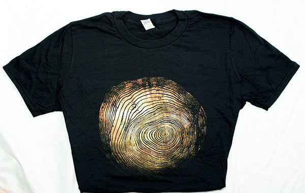 Double Exposure Woodcut Tee