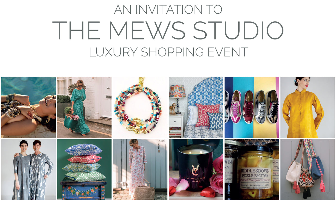 The Mews Studio Luxury Shopping Event