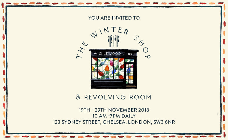 The Winter Shop & Revolving Room: Meet The Designers