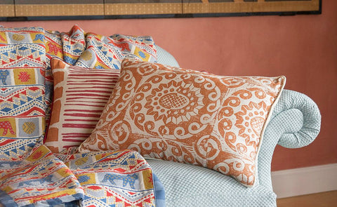 Trick or Treat: our Four Favourite Orange Cushions