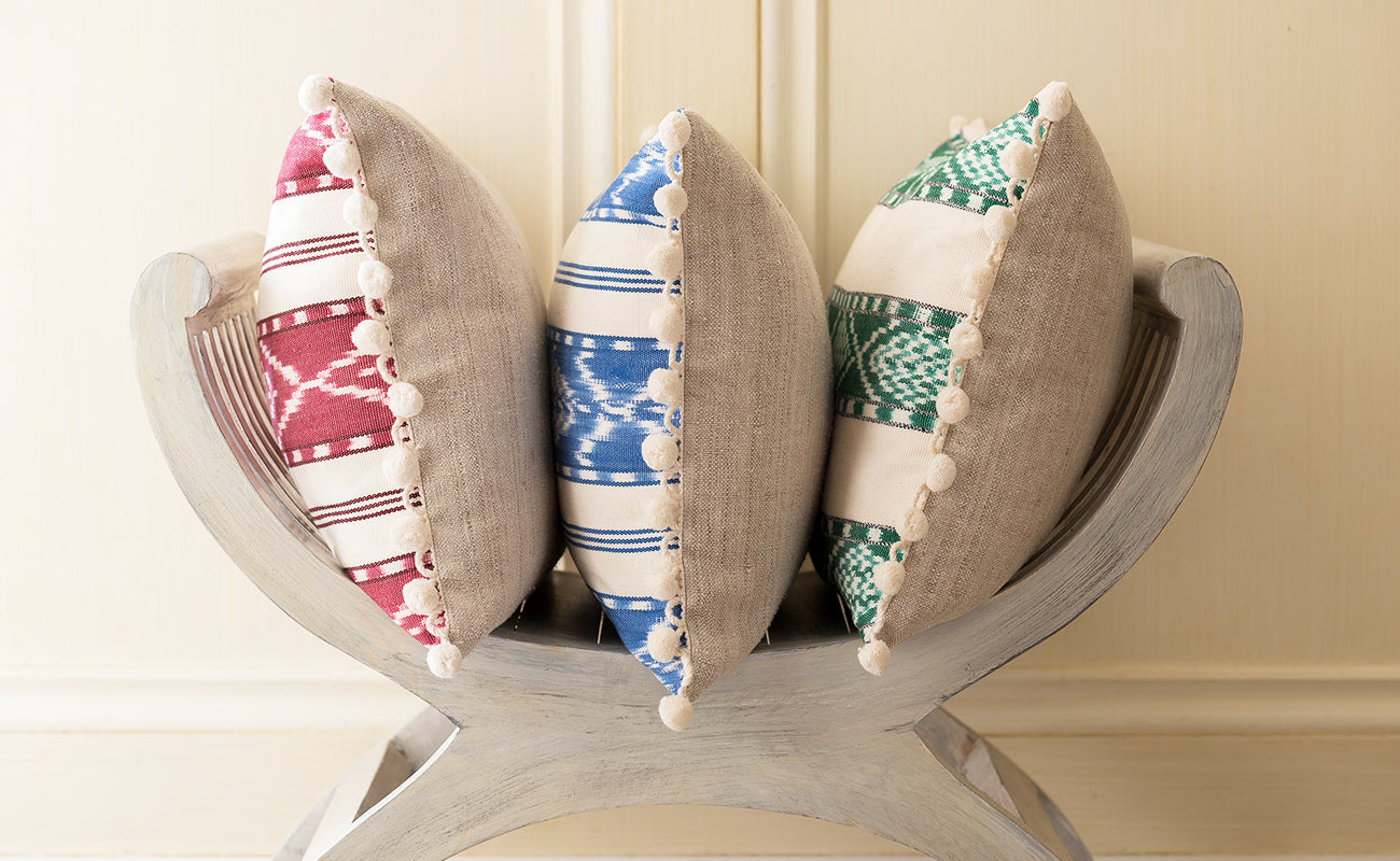 Four Favourite Festive Cushion Combos