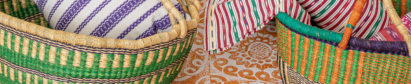 African Seagrass Baskets