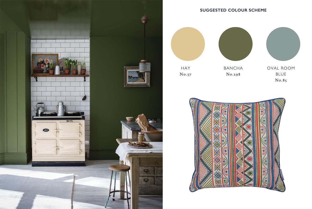 wicklewood interviews Farrow and Ball colour expert Joa Studholme