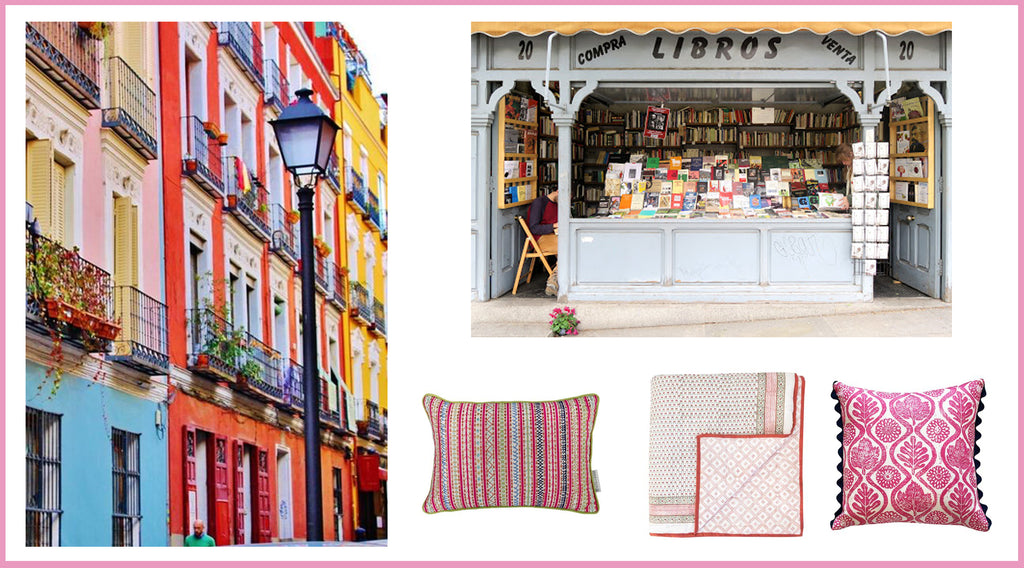 Wicklewood blog - best spot for interior collecting - Madrid, Spain.