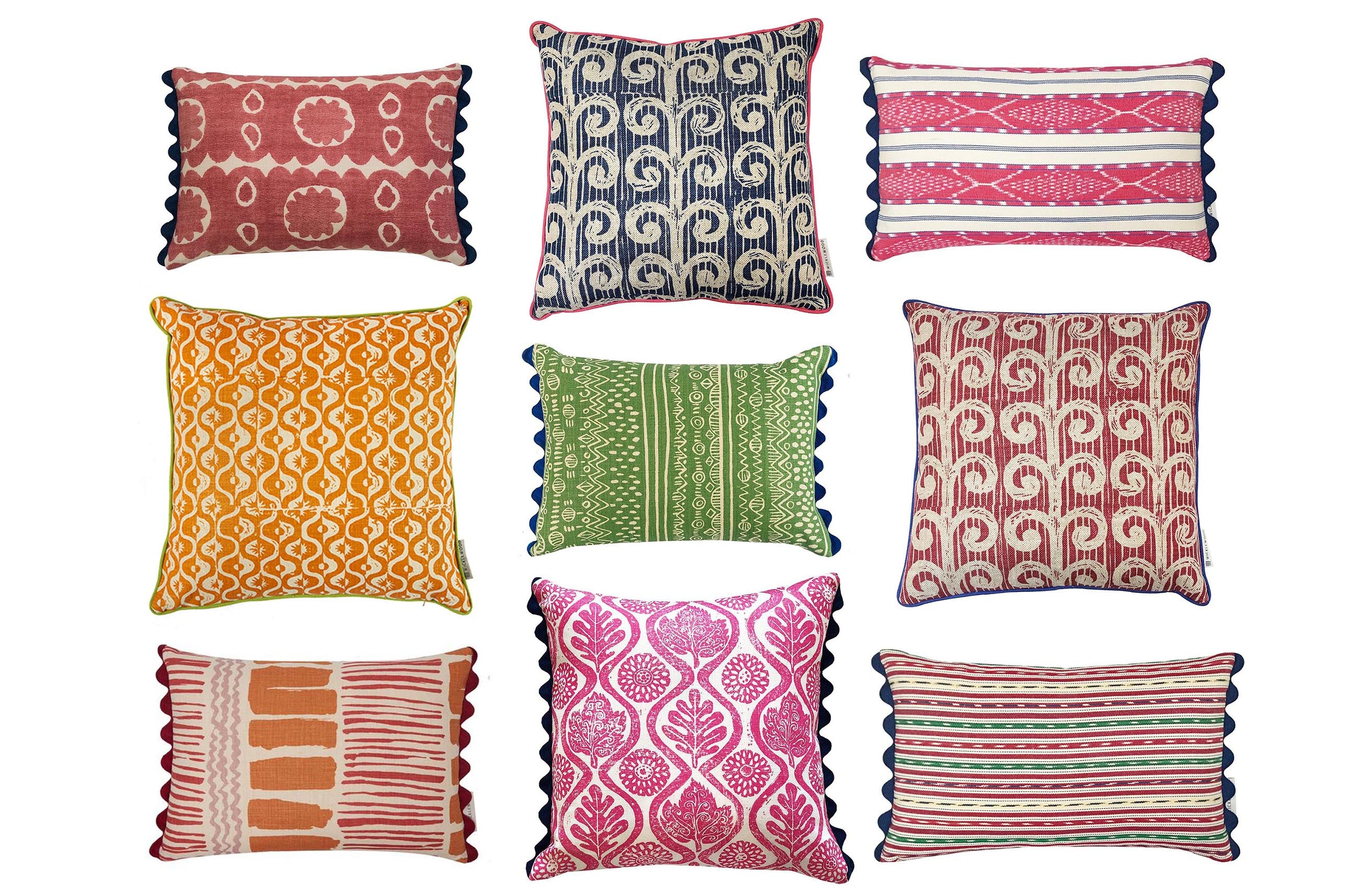 Shop maximalist cushions by wicklewood