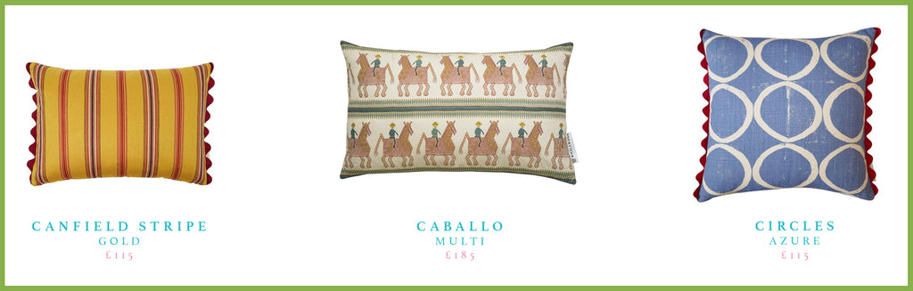 Beata Heuman's favourite Wicklewood scatter cushions