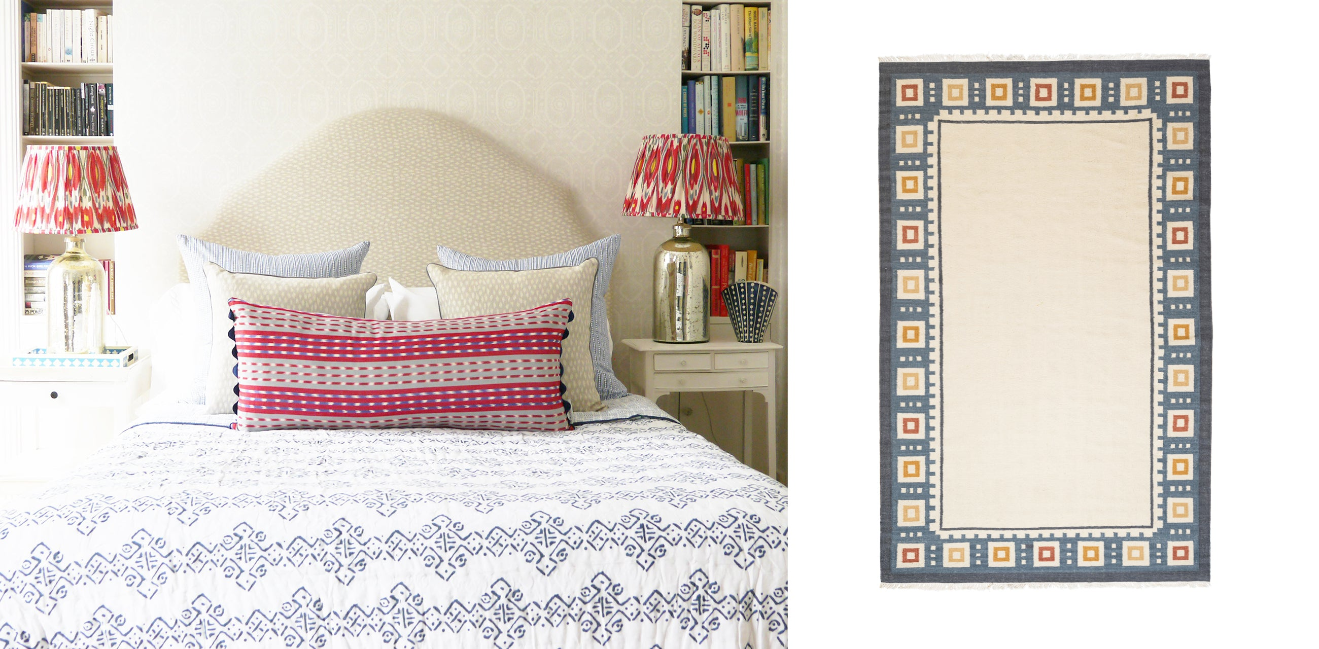 Shop wicklewood reversible quilts, extra oblong jaspe cushions and rugs