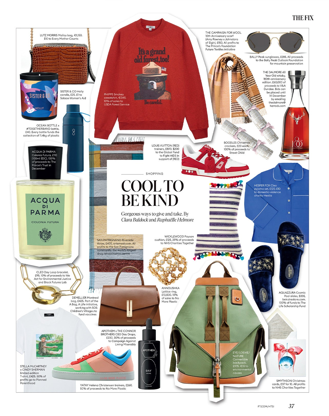 wicklewood payson cushion featured in How to Spend It Magazine by Finantial Times