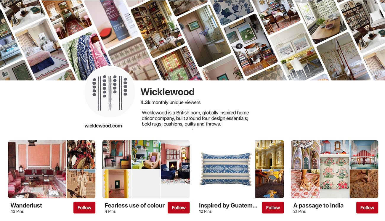 Wicklewood London Pinterest Page full of home decor and interiors inspiration