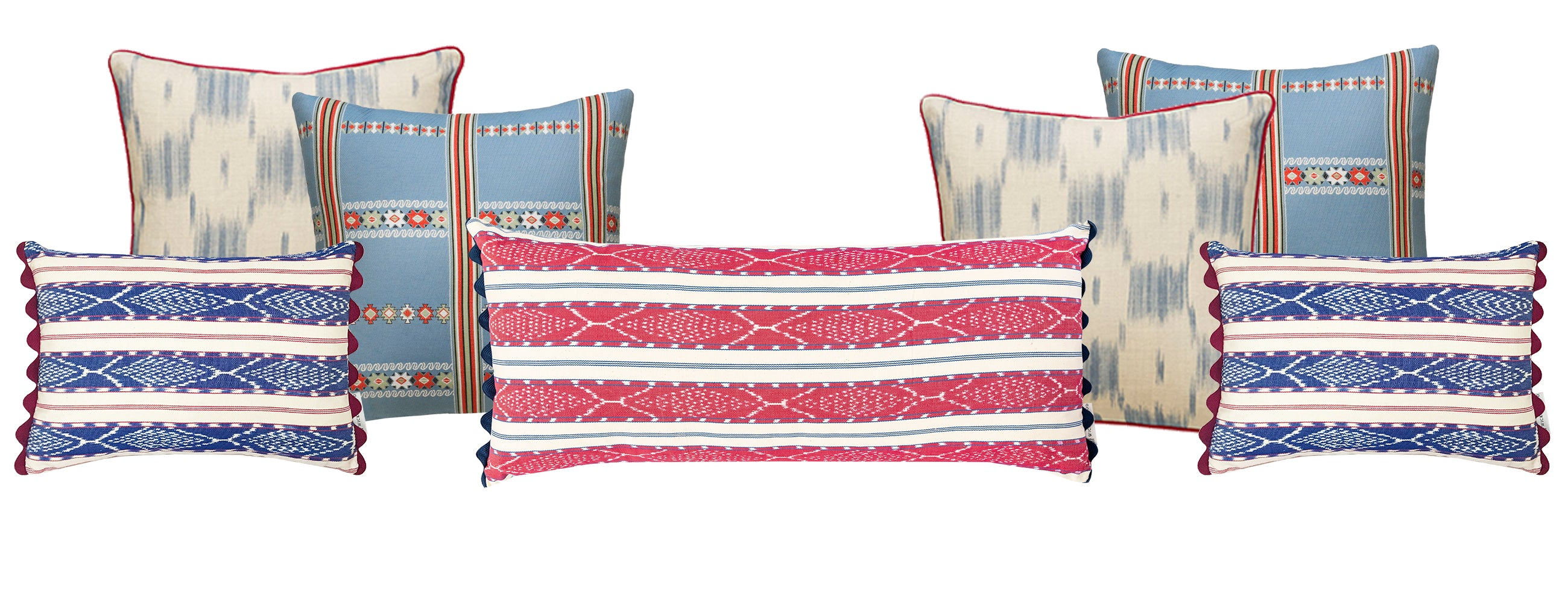 Wiggy Hindmarch's favourite Wicklewood cushions