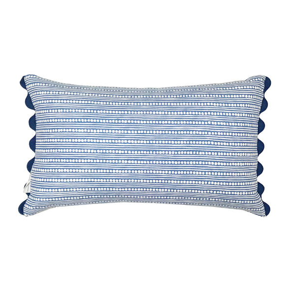 Crafted out our original Guatemalan jaspe our Antigua Stripe oblong mixes perfectly with our ashcombe cushion